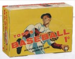 1956 Topps Wax Box