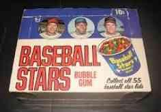 1973 Topps Candy Lids Box