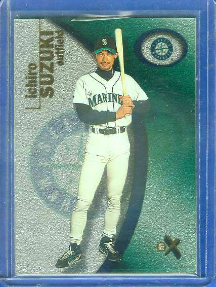2001 E-X #105 ICHIRO ROOKIE (Mariners) Baseball cards value