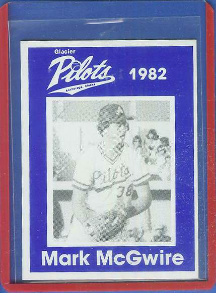 1982 Anchorage Glacier Pilots #MM Mark McGwire Baseball cards value