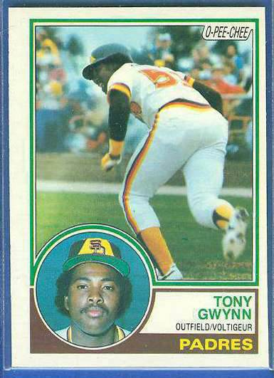 1983 O-Pee-Chee/OPC #143 Tony Gwynn ROOKIE (HALL-of-FAMER) (Padres) Baseball cards value
