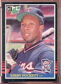 1985 Leaf/Donruss #107 Kirby Puckett ROOKIE (Twins) Baseball cards value