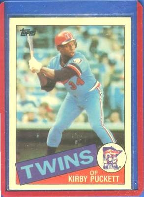1985 Topps TIFFANY #536 Kirby Puckett ROOKIE (Twins) Baseball cards value