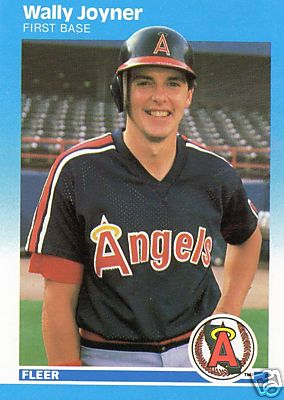 Wally Joyner - 1987 Fleer #86 ROOKIE (Angels) Baseball cards value