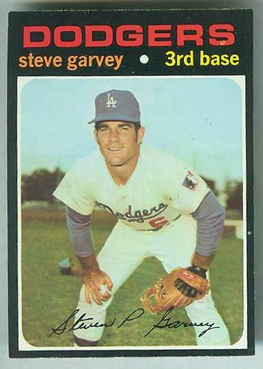 1971 Topps #341 Steve Garvey ROOKIE [#a] (Dodgers) Baseball cards value