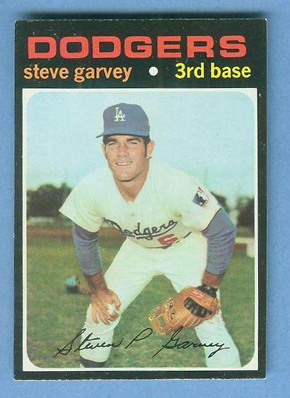 1971 Topps #341 Steve Garvey ROOKIE [#b] (Dodgers) Baseball cards value