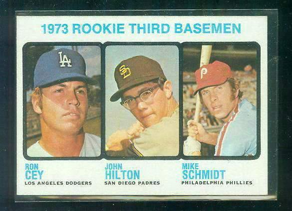 1973 Topps 615 Mike Schmidt Rookie A Tougher High