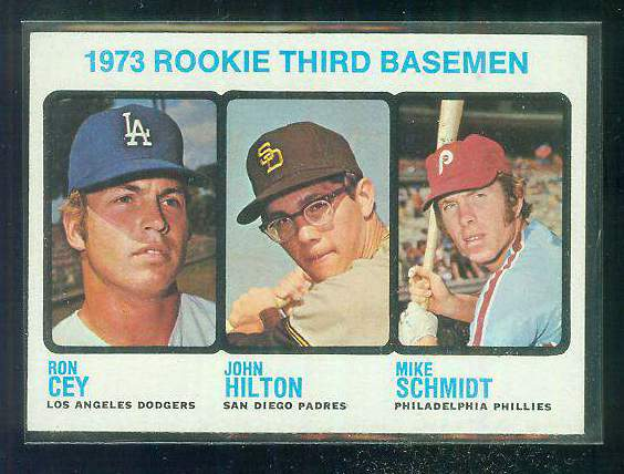 1973 Topps #615 Mike Schmidt ROOKIE [#b] TOUGHER HIGH #.(Phillies) Baseball cards value