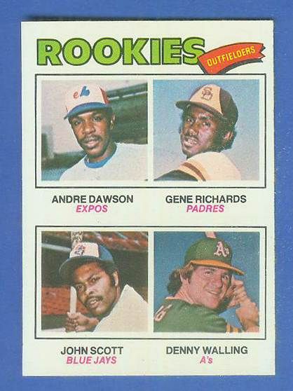 1977 Topps #473 Andre Dawson ROOKIE [#a] (Expos) Baseball cards value