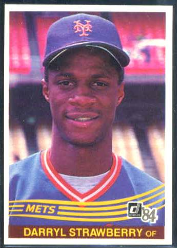 Darryl Strawberry - 1984 Donruss #.68 ROOKIE (Mets) Baseball cards value