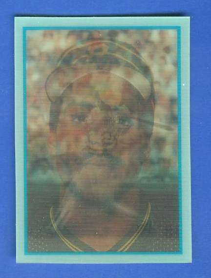 Barry Bonds - 1986 Sportflics Rookies #13 ROOKIE (Pirates) Baseball cards value