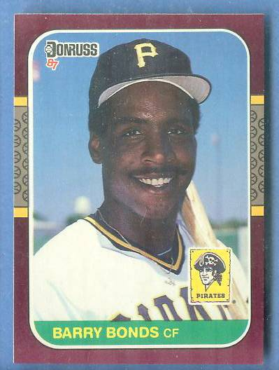 Barry Bonds - 1987 Donruss OPENING DAY #163 ROOKIE (NM/MINT) Baseball cards value