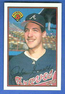 John Smoltz - 1989 Bowman #266 ROOKIE (Braves) Baseball cards value