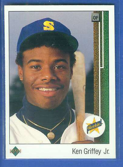 Ken Griffey Jr - 1989 Upper Deck #1 ROOKIE (Mariners) Baseball cards value