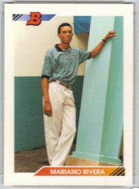1992 Bowman #302 Mariano Rivera ROOKIE Baseball cards value