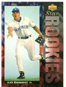 Alex Rodriguez - 1994 Upper Deck #24 FOIL ROOKIE Baseball cards value