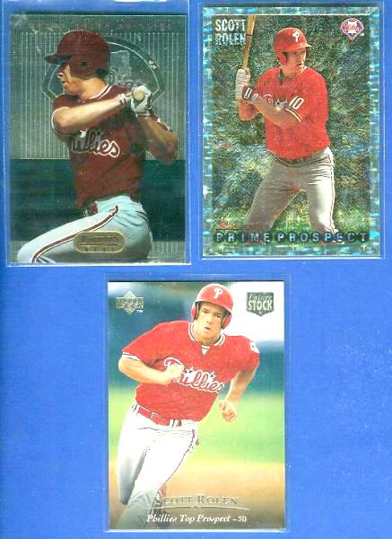 Scott Rolen - 1995 Bowman's Best #B87 ROOKIE (Phillies) Baseball cards value