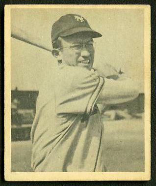 1948 Bowman #.32 Bill Rigney ROOKIE (New York Giants) Baseball cards value