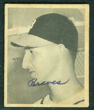 1948 Bowman #.18 Warren Spahn ROOKIE (Boston Braves) Baseball cards value