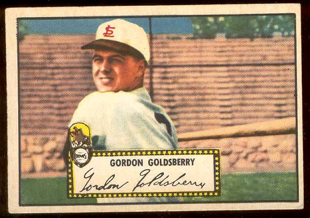1952 Topps #.46 Gordon Goldsberry (St. Louis Browns) Baseball cards value