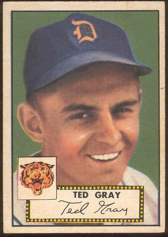1952 Topps #.86 Ted Gray [#a] (Tigers) Baseball cards value