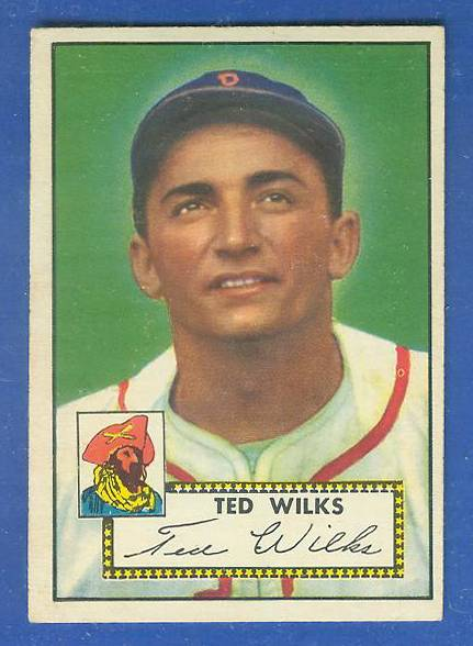 1952 Topps #109 Ted Wilks [#b] (Pirates) Baseball cards value