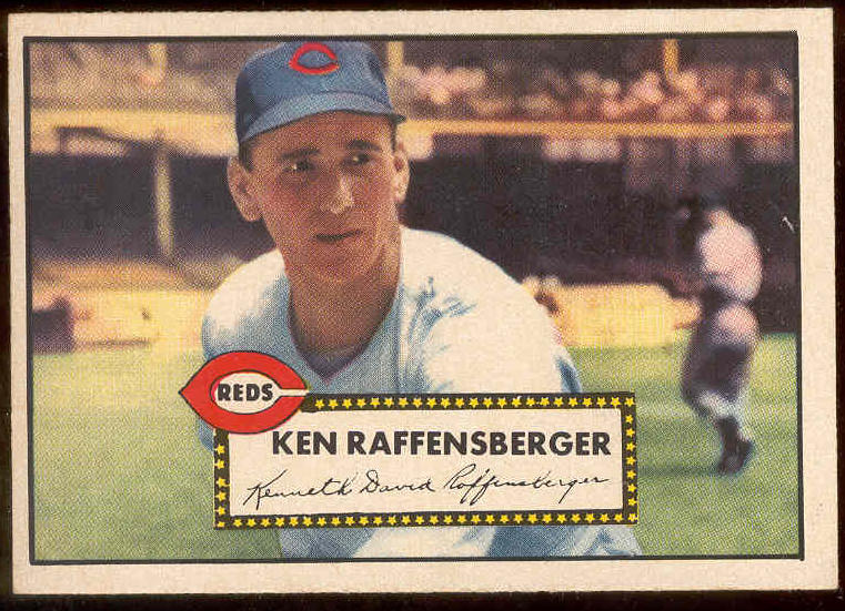 1952 Topps #118 Ken Raffensberger [#a] (Reds) Baseball cards value