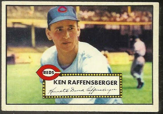 1952 Topps #118 Ken Raffensberger [#b] (Reds) Baseball cards value