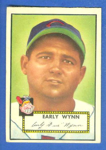 1952 Topps #277 Early Wynn (Indians) Baseball cards value