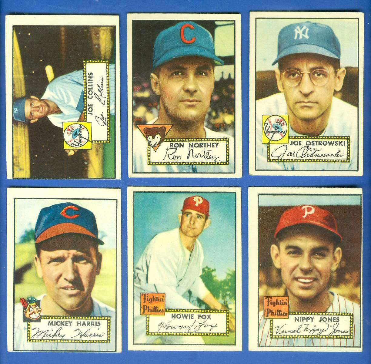1952 Topps #206 Joe Ostrowski (Yankees) Baseball cards value