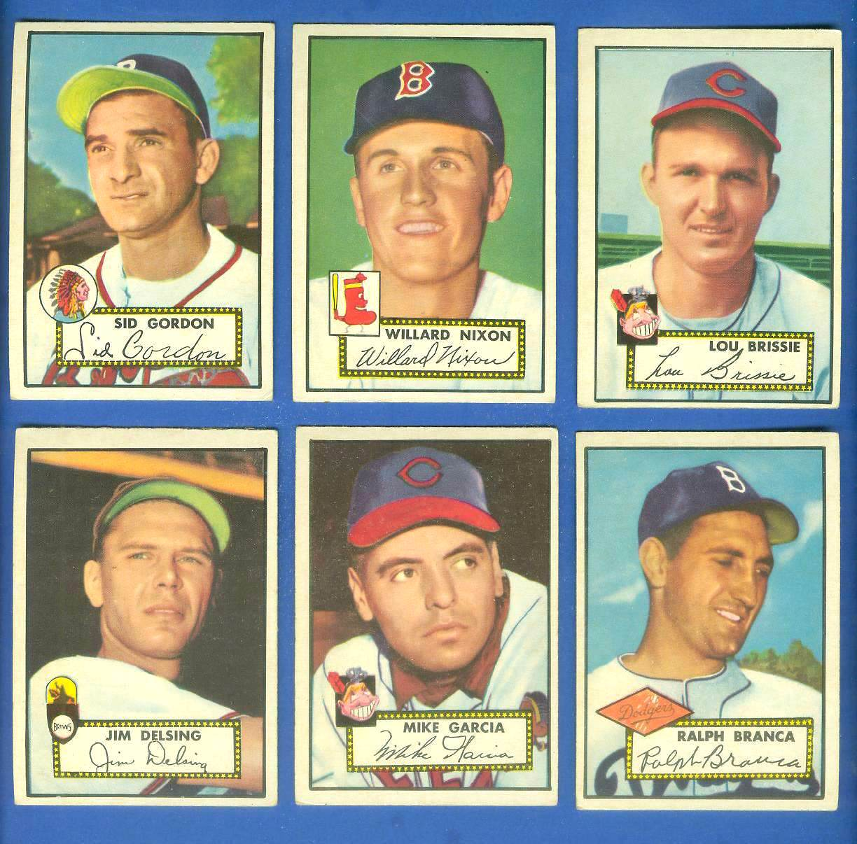 1952 Topps #274 Ralph Branca (Brooklyn Dodgers) Baseball cards value