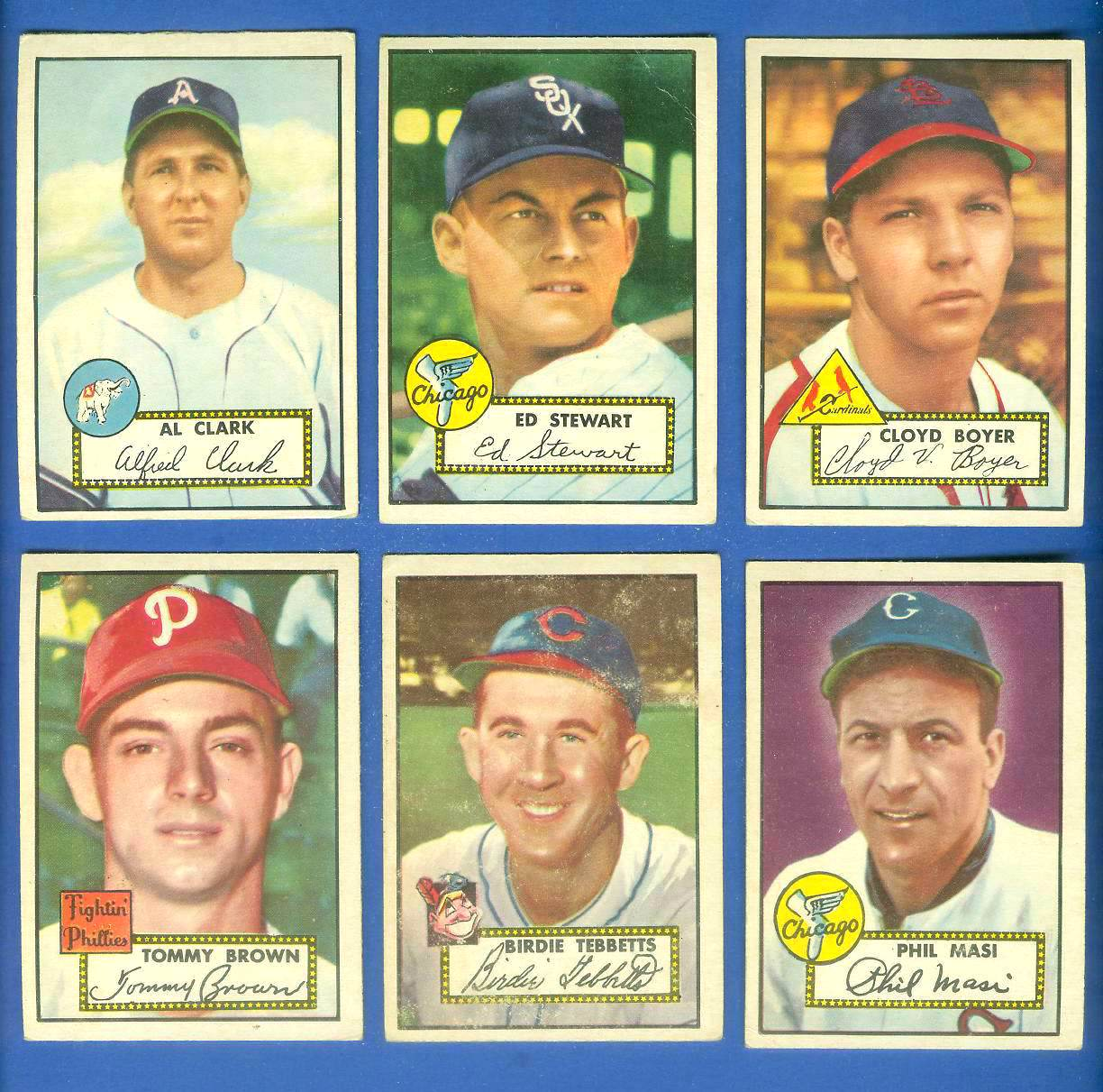 1952 Topps #280 Cloyd Boyer (Cardinals) Baseball cards value