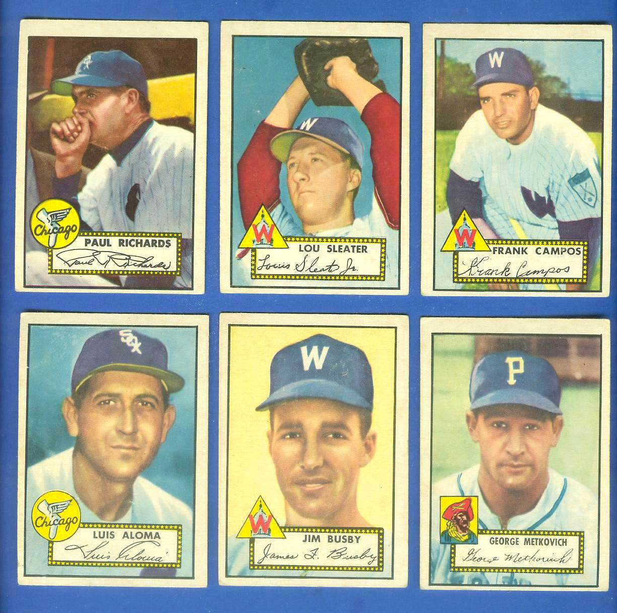 1952 Topps #305 Paul Richards MGR (White Sox) Baseball cards value