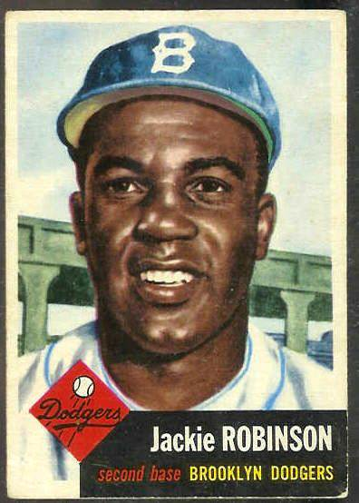 1953 Topps #..1 Jackie Robinson (Brooklyn Dodgers) Baseball cards value