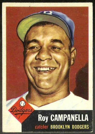 1953 Topps #.27 Roy Campanella [#a] (Brooklyn Dodgers) Baseball cards value