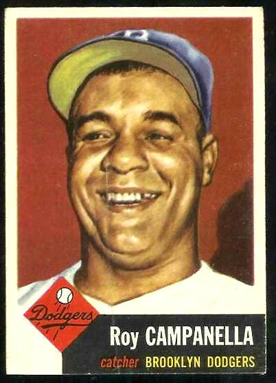 1953 Topps #.27 Roy Campanella [#b] (Brooklyn Dodgers) Baseball cards value