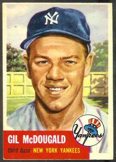1953 Topps #.43 Gil McDougald (Yankees) Baseball cards value