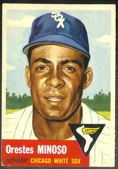 1953 Topps #.66 Orestes Minoso [#a] (White Sox) Baseball cards value