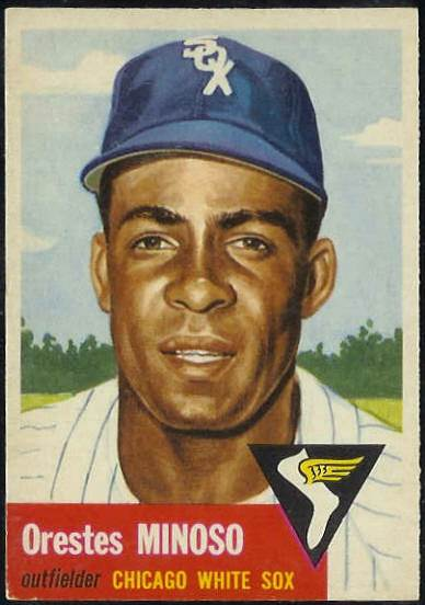 1953 Topps #.66 Orestes Minoso [#b] (White Sox) Baseball cards value