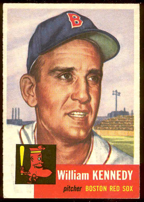 1953 Topps #.94 William Kennedy (Red Sox) Baseball cards value