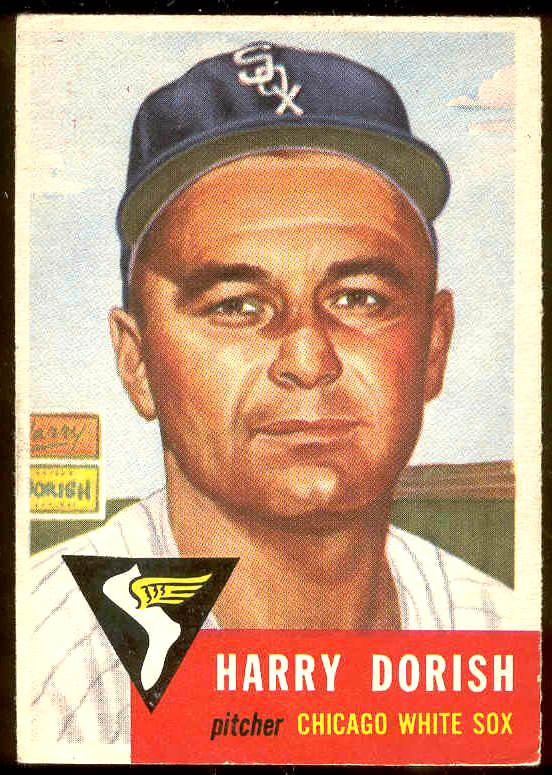 1953 Topps #145 Harry Dorish (White Sox) Baseball cards value
