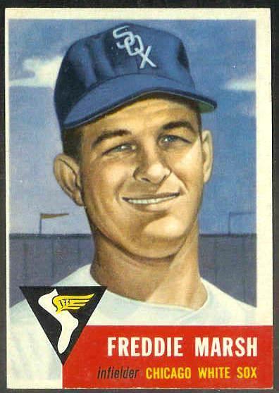 1953 Topps #240 Freddie Marsh SCARCE HIGH #.(White Sox) Baseball cards value