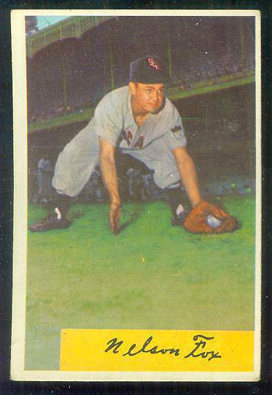 1954 Bowman #..6 Nelson Fox [#a] (White Sox) Baseball cards value