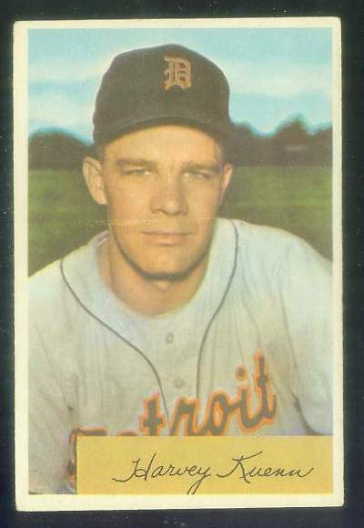 1954 Bowman #.23 Harvey Kuenn ROOKIE [#c] (Tigers) Baseball cards value