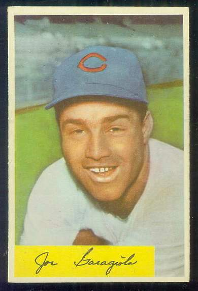 1954 Bowman #141 Joe Garagiola [#a] (Cubs) Baseball cards value