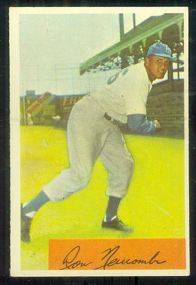 1954 Bowman #154 Don Newcombe (Brooklyn Dodgers) Baseball cards value
