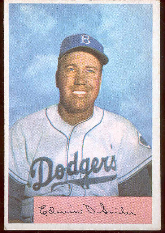 1954 Bowman #170 Duke Snider [#a] (Brooklyn Dodgers) Baseball cards value