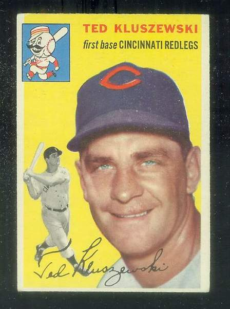 1954 Topps #..7 Ted Kluszewski [#c] (Reds) Baseball cards value