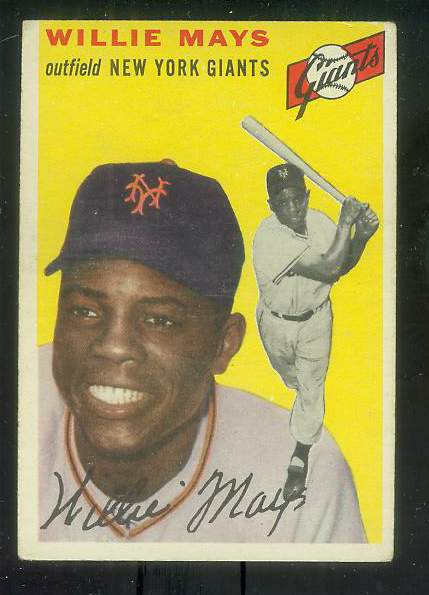 1954 Topps #.90 Willie Mays [#c] (NY Giants) Baseball cards value