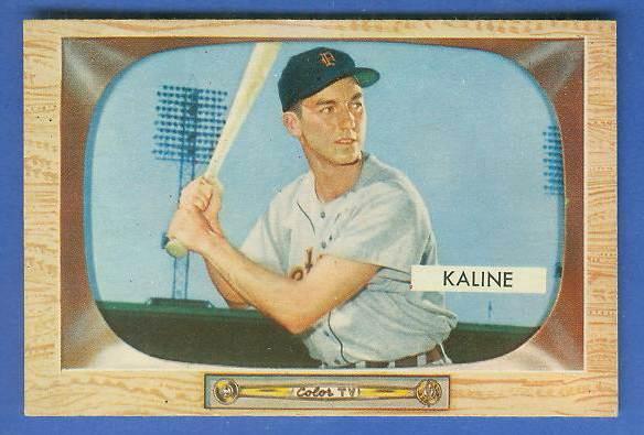 1955 Bowman #.23 Al Kaline [#a] (Tigers) Baseball cards value